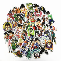 Dragon Ball Stickers - One Piece Gears