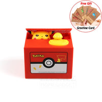 Super Cute Pikachu Piggy Bank - One Piece Gears