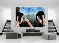 Uchiha Itachi And Uchiha Sasuke Wall Decor Canvas - One Piece Gears