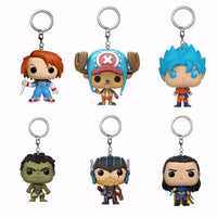 Anime Funko Key Chains - One Piece Gears