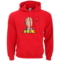 One Punch Man Ok Hoodies - One Piece Gears