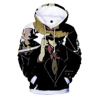 Monkey D. Luffy and Roronoa Zoro 3D Hoodies - One Piece Gears