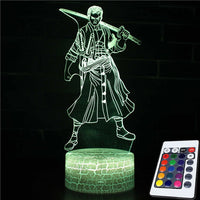 One Piece USB Color Changing Table Lamp