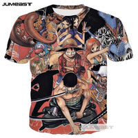 New One Piece 3D Tshirts - One Piece Gears