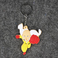 One Punch Man Saitama Keychain - One Piece Gears