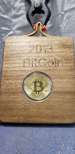 2013 Bitcoin Collectible Coin Decor