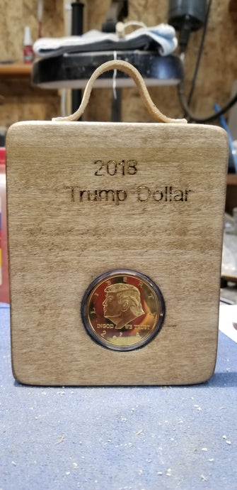 Trump dollar collectible coin art #3