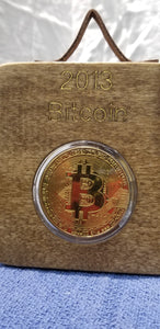 OOAK Bitcoin Collectible Decor art hanging