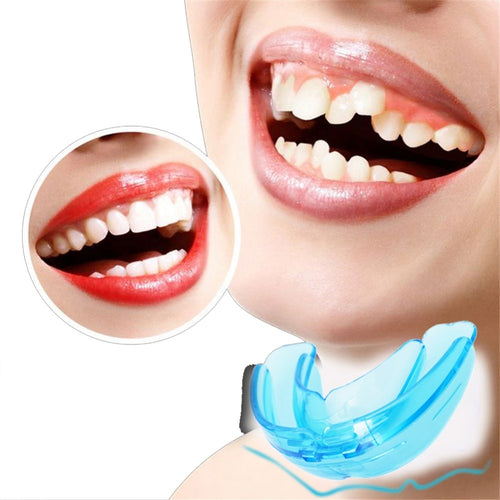 1Pcs Soft Orthodontic Brace Buck Teeth Retainers Boxing Tooth Protector Dental Mouthpieces Orthodontic Appliance Trainer