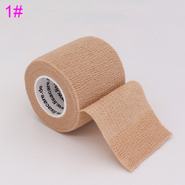 Colorful Sport Self Adhesive Elastic Bandage Wrap Tape 4.5m Elastoplast For Knee Support Pads Finger Ankle Palm Shoulder