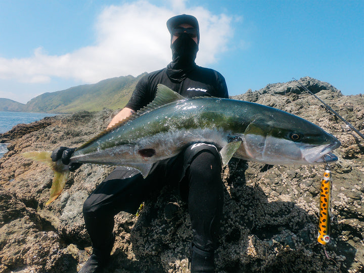 Jake Pyne, Kingfish, New Zealand.