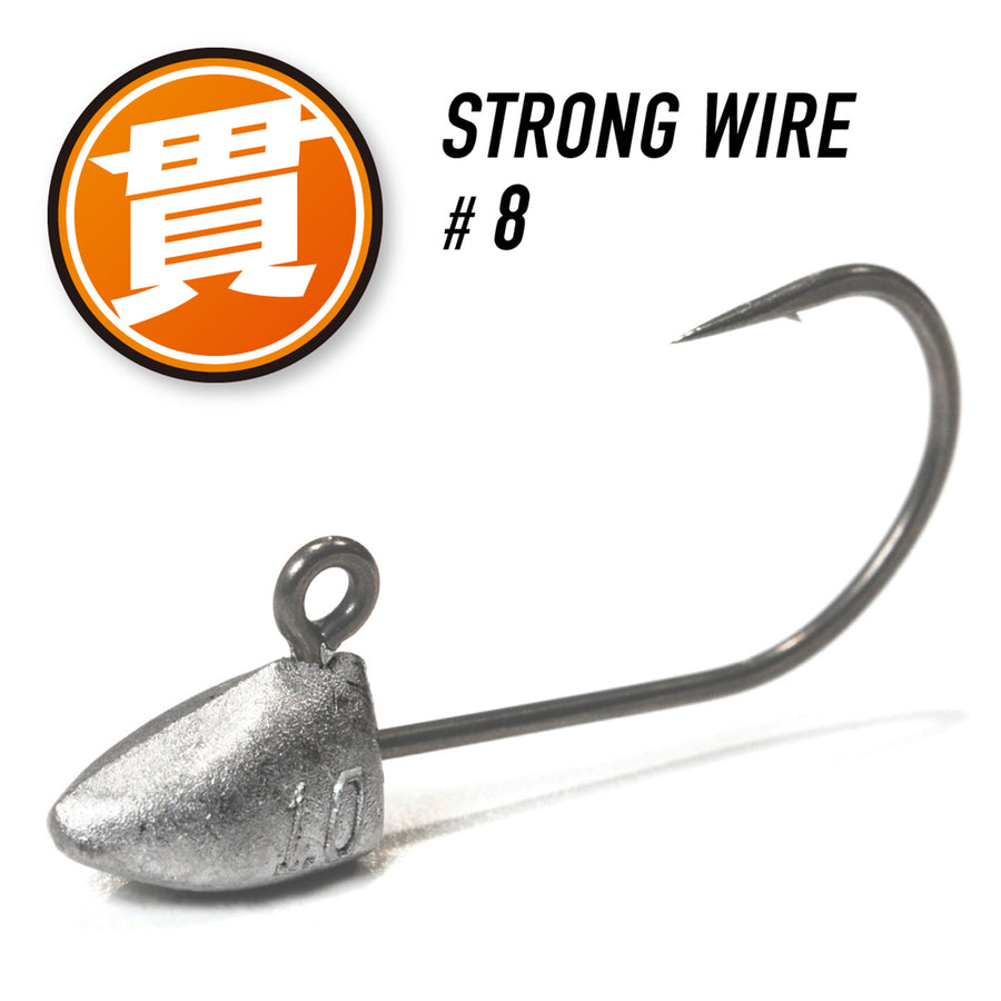 Magbite Aji Killer Jighead - Strong Wire
