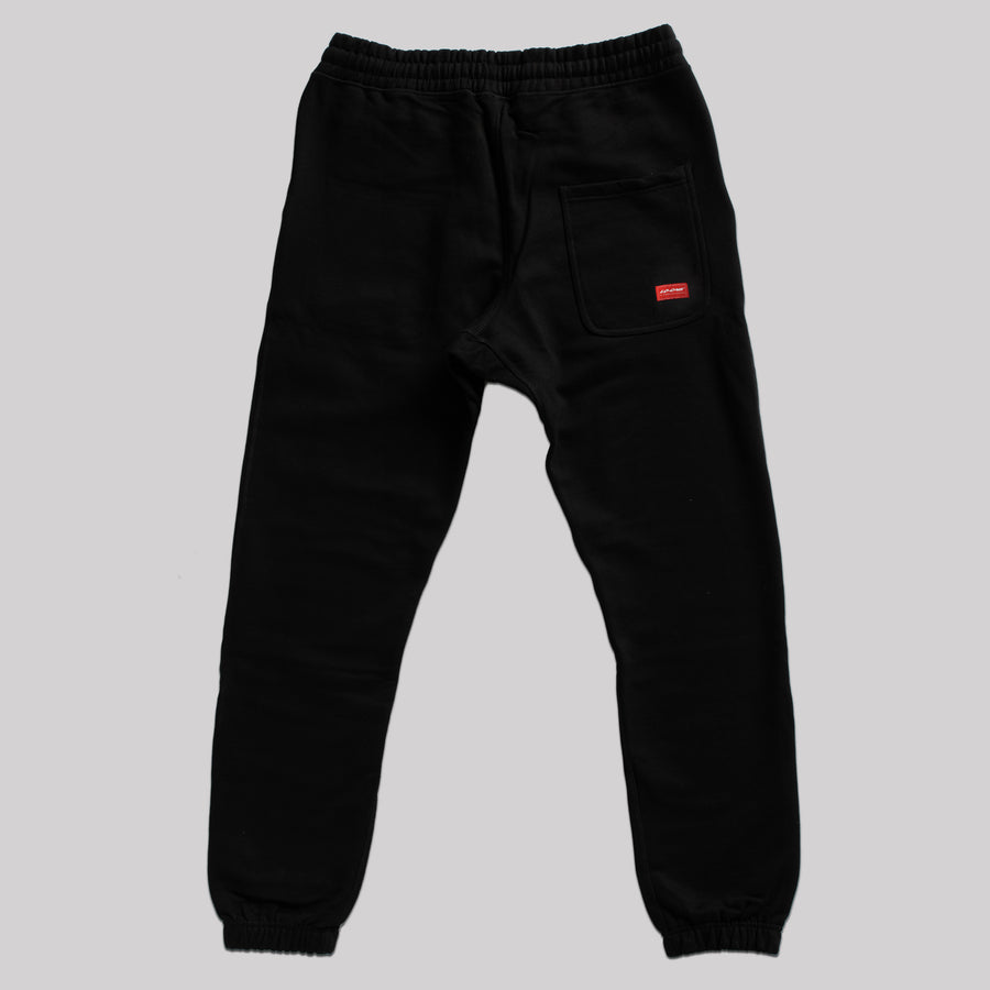 Lo Dash Heavy Trackpant - Black
