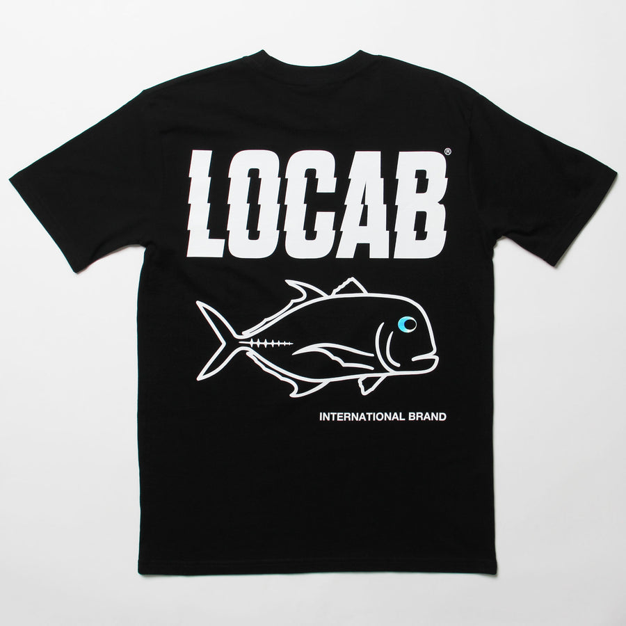 Jagged Ulua T-shirt - Black