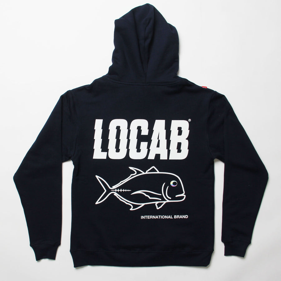 Jagged Ulua Set Hood - Navy