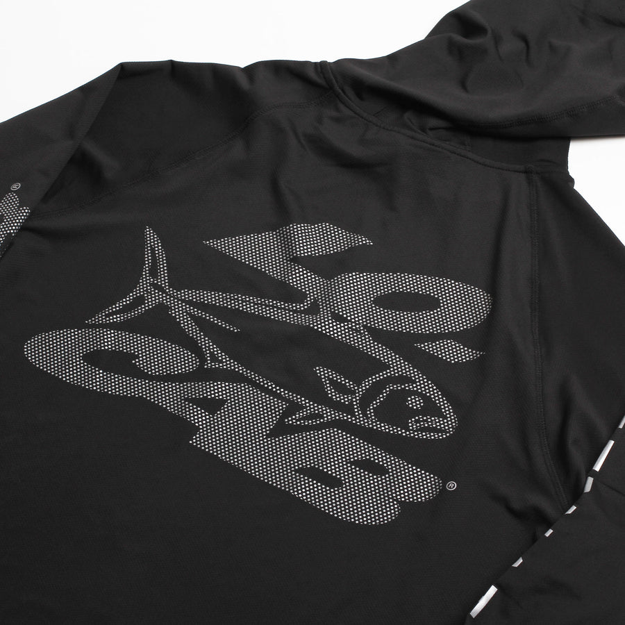 Kingfish Kona Long-sleeve Top - Black
