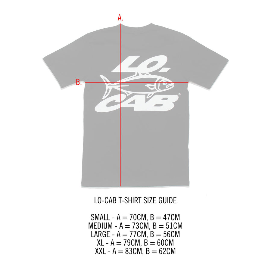 Lo-Cab Lite T-shirt - Black