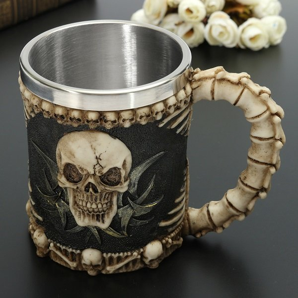 Skull And Bones Fiendish 3D Tankard