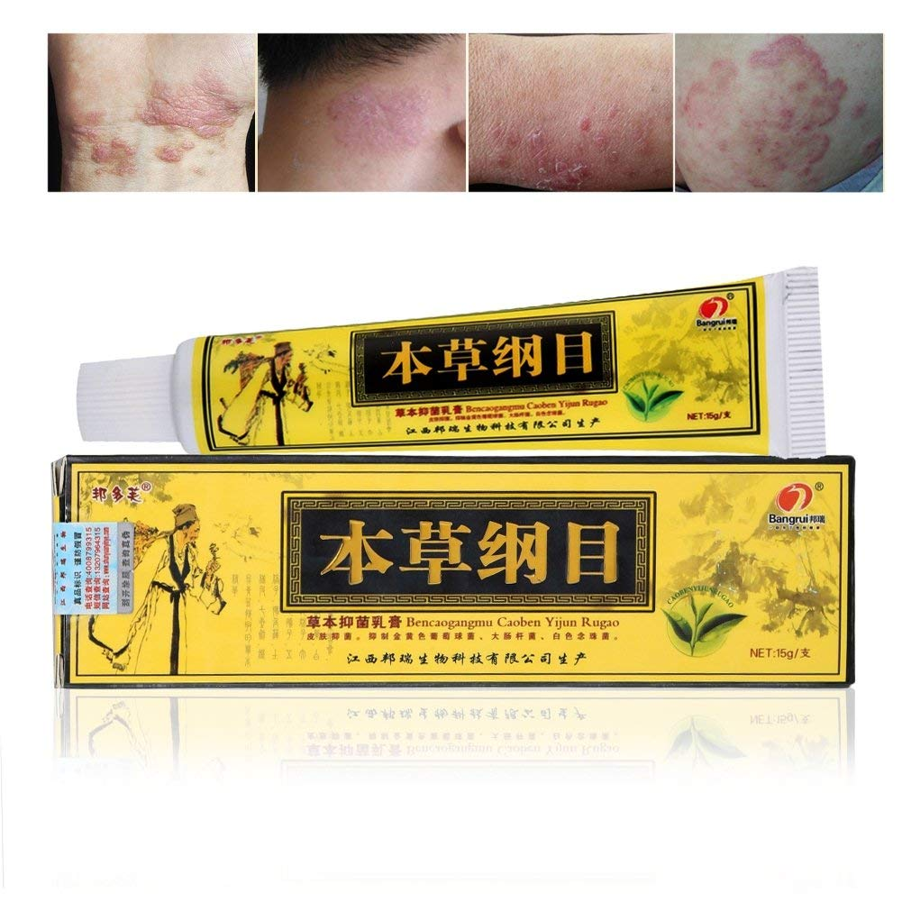 Advanced Psoriasis & Eczema Natural Herbal Cream