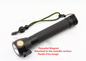 Rechargeable Multi-function Emergency Torch Lights