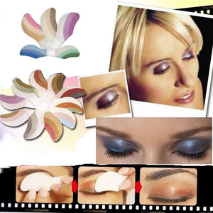 Instant Eyeshadow 6 pairs powder pallete