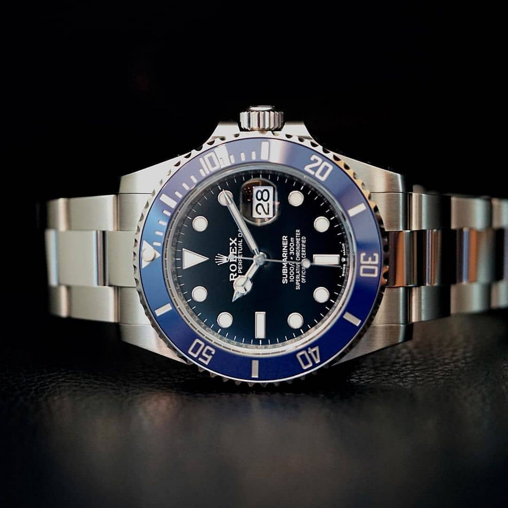 For the Rolex Submariner ref. 126619LB in white gold, what nickname has Instagram decided on?
