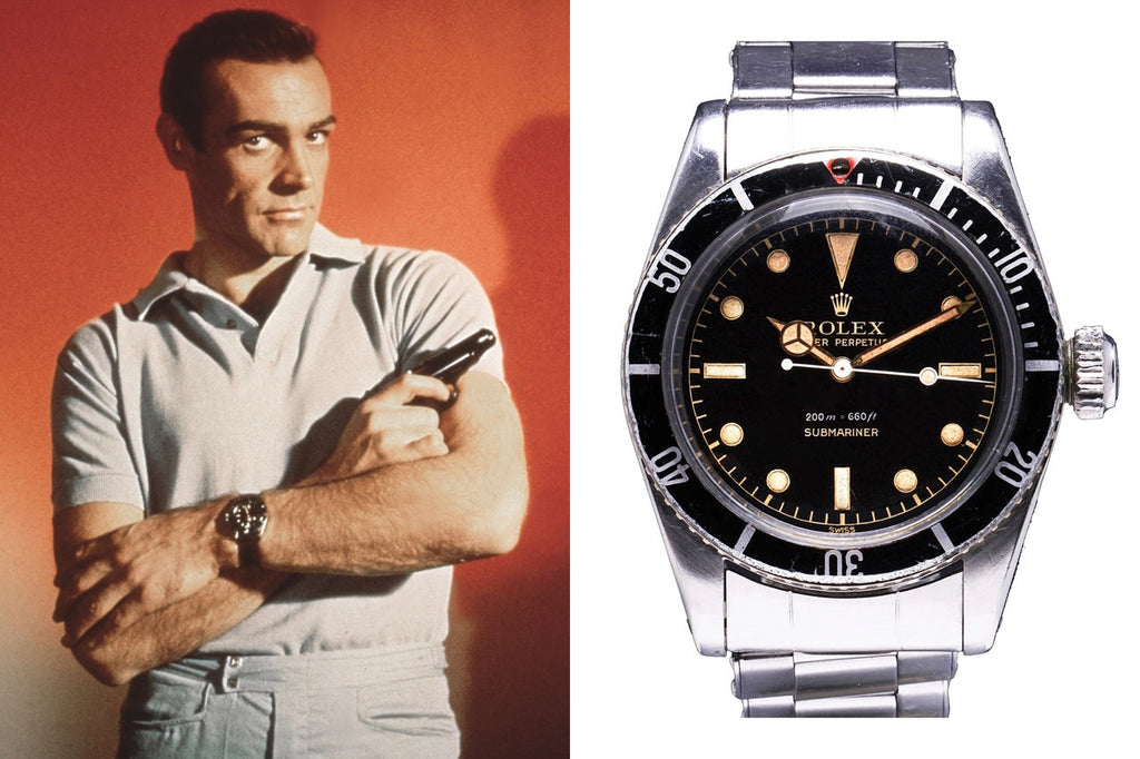 Rolex Submariner reference 6538 worn by Sean Connery's James Bond in Dr. No