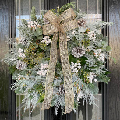 Winter Whites Wreath