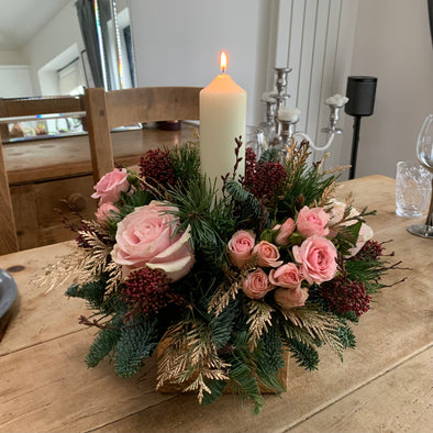 Single candle arrangement