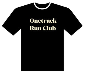 Onetrack Run Club Performance Real Tee - PRE-ORDER