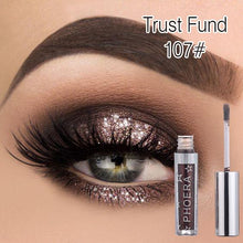 Load image into Gallery viewer, Phoera Liquid Eyeliner Glitter Glow