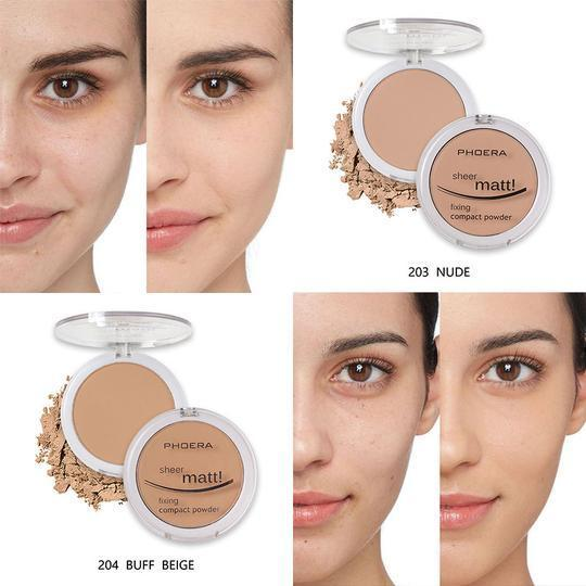 PHOERA Compact Foundation Pressed Powder by  Beauty Pop Cosmetics