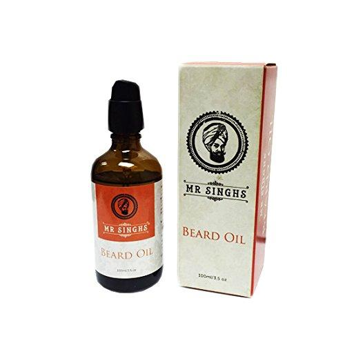 Mr Singhs Beard Oil 100ml, Hair Styling Products by Beauty Pop Cosmetics
