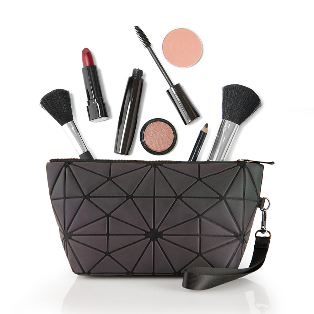 Pryzm 'Glow In The Dark' Makeup Bag (Large) by  Beauty Pop Cosmetics