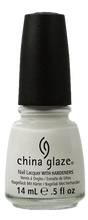 Load image into Gallery viewer, China Glaze White on White Nail Polish