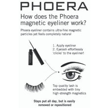Load image into Gallery viewer, PHOERA Premium Magnetic Eyeliner & Lashes Kit