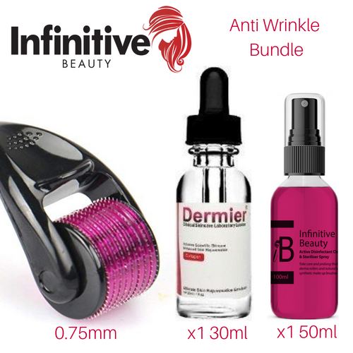 Derma Roller Anti Wrinkle Bundle