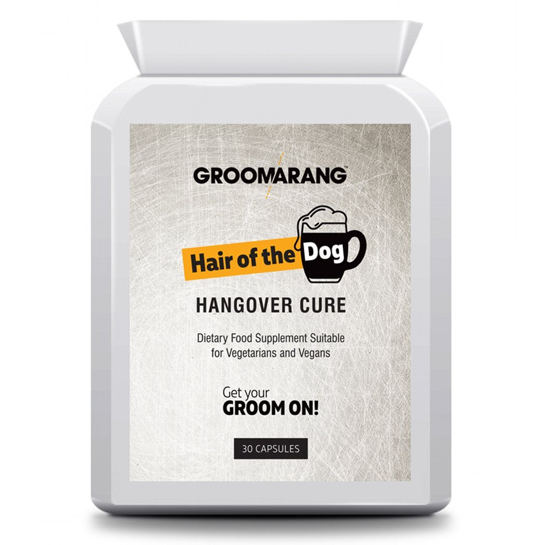 Groomarang 'Hair of the Dog' Hangover Cure tablets by  Beauty Pop Cosmetics