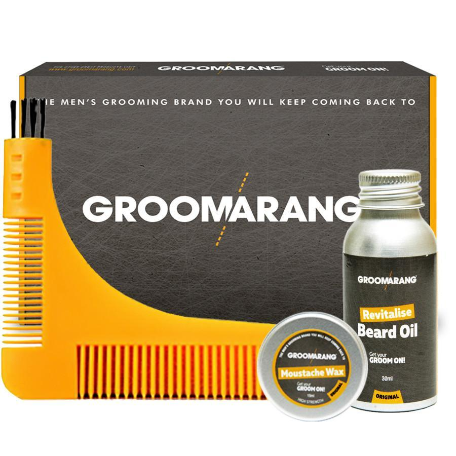 Groomarang Essential Collection, Hair Styling Products by Beauty Pop Cosmetics