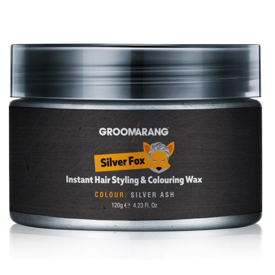 Groomarang Silver Fox Instant Hair Styling & Colouring Wax by  Beauty Pop Cosmetics