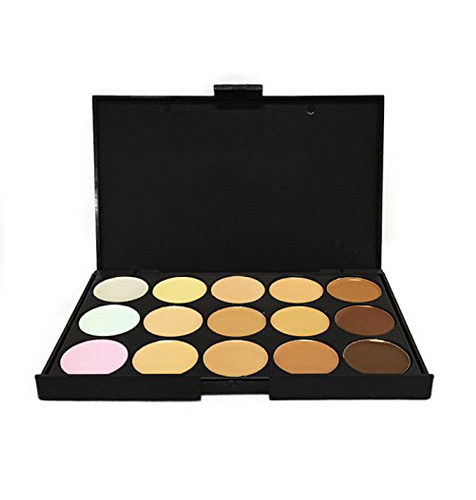 15 Shades Colour Contouring Concealer Makeup Palette Kit by  Beauty Pop Cosmetics