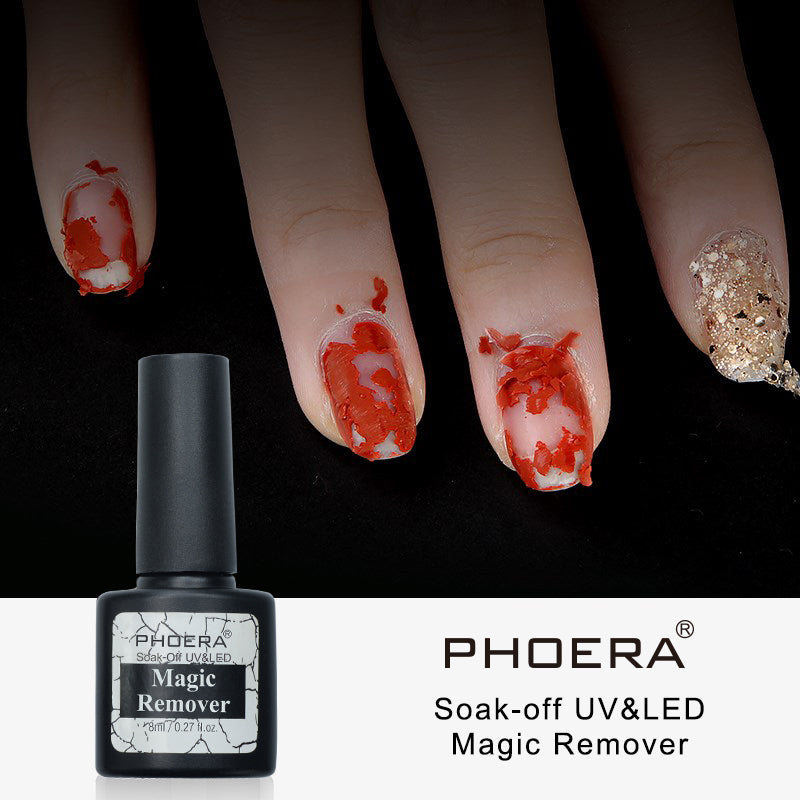 NEW Phoera Magic Burst Nail Gel Remover by  Beauty Pop Cosmetics