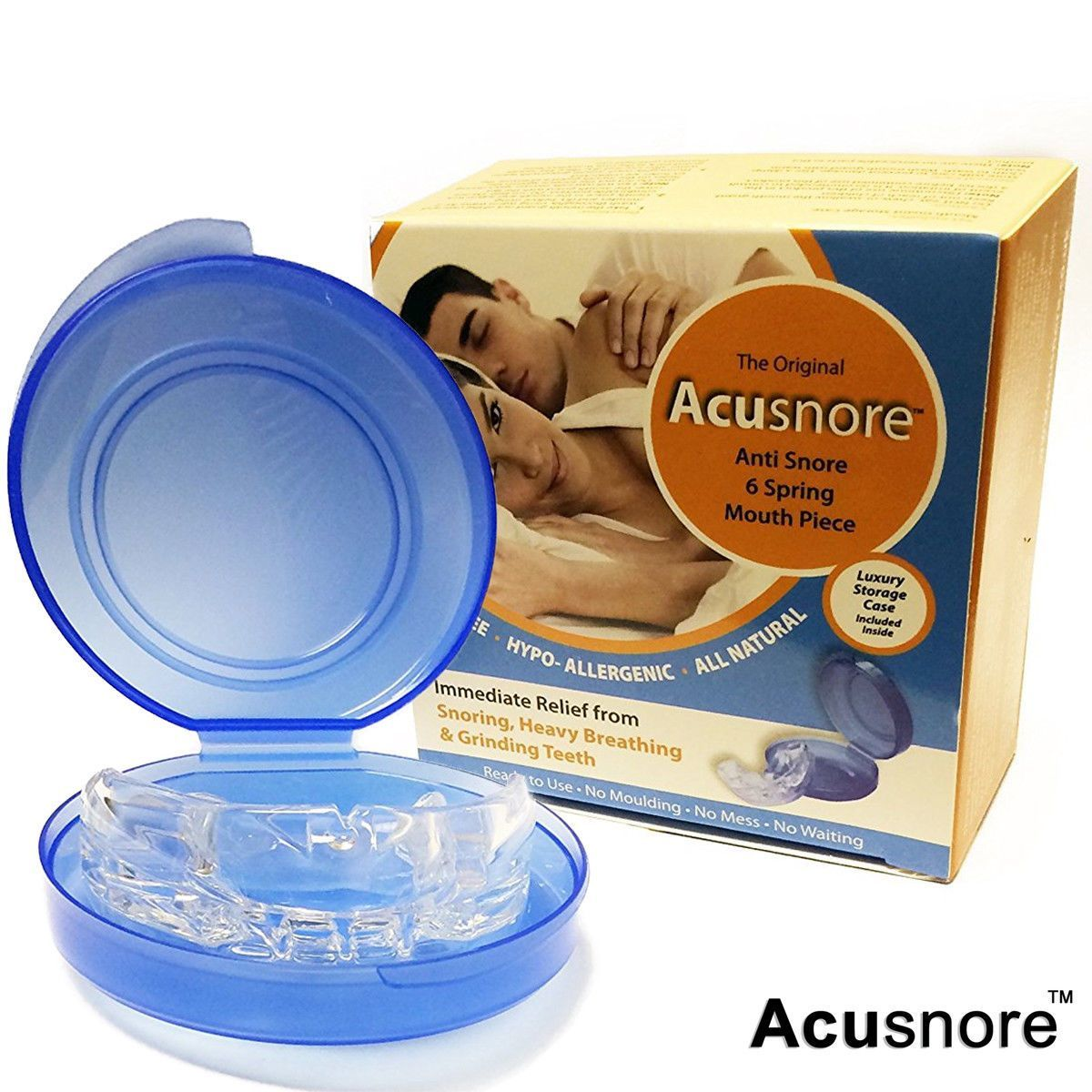 Acusnore Anti Snore Mouth Guard by  Beauty Pop Cosmetics