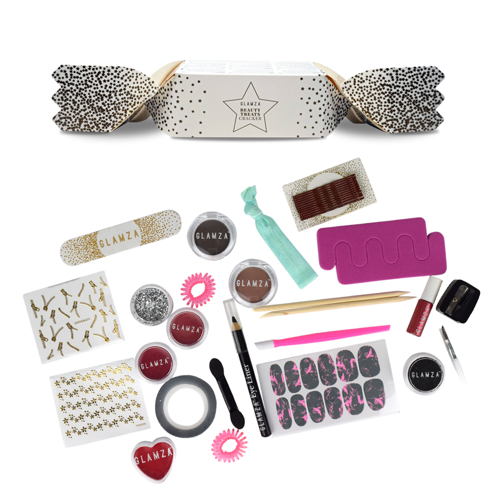 Glamza Beauty Treats Christmas Cracker by  Beauty Pop Cosmetics