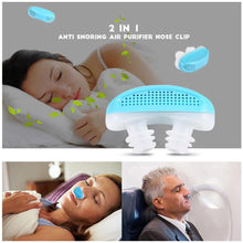 Load image into Gallery viewer, Acusnore Anti Snore Air Purifier Device Sleep Aid