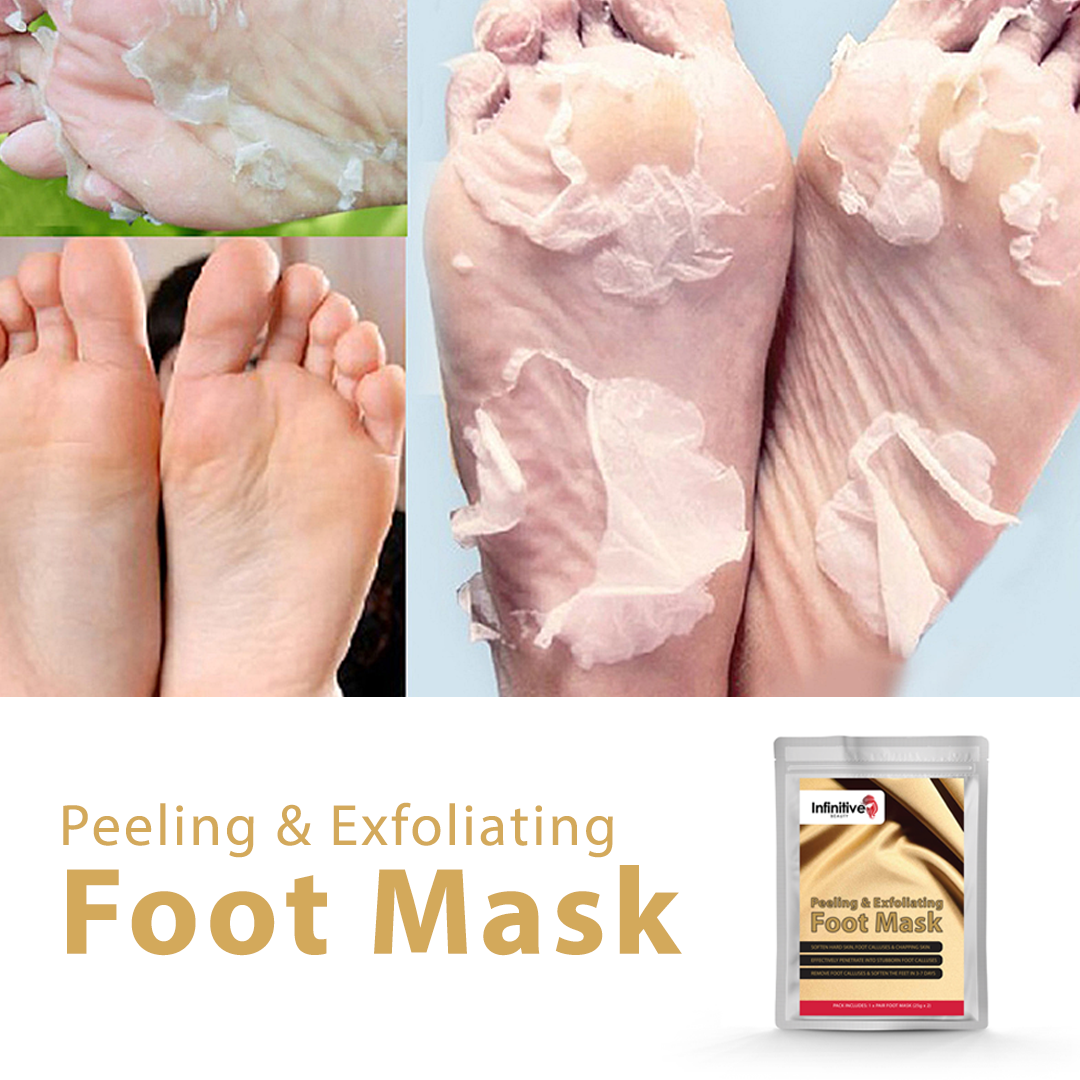 Infinitive Beauty Exfoliating Foot Mask by  Beauty Pop Cosmetics