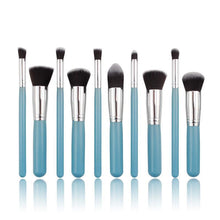 Load image into Gallery viewer, Glamza Blue Brush Set 10pc
