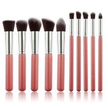 Load image into Gallery viewer, Glamza Pink Brush Set 10pc