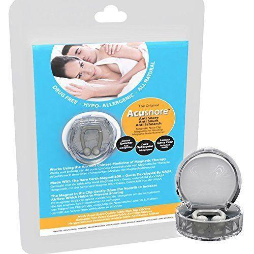 Acusnore Anti Snore Magnetic Nose Clip
