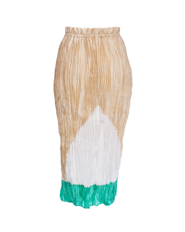 Tsumori Chisato - pleated skirt